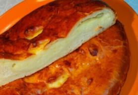 Русский пирог с сыром и картофелем 0,6 кг