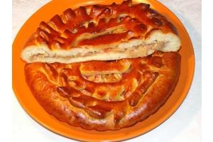 Постный пирог с яблоками 1кг