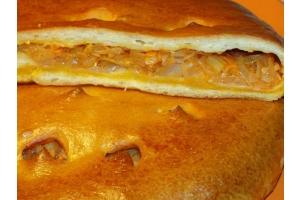 Постный пирог с капустой 0,6кг