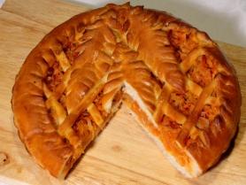 Русский пирог с Капустой 1кг