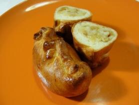 Средний пирожок с картофелем и луком