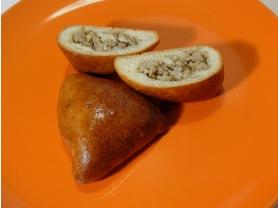 Средний пирожок с мясом и рисом