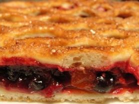 Русский пирог с ягодами 0,6кг
