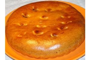 Русский пирог с яйцом и рисом 0,6 кг