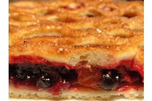 Русский пирог с ягодами 1кг