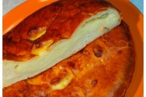 Русский пирог с сыром и картофелем 1кг